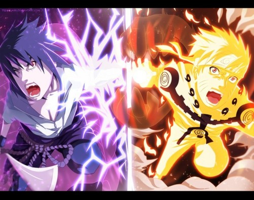 নারুত and Sasuke Final Battle !