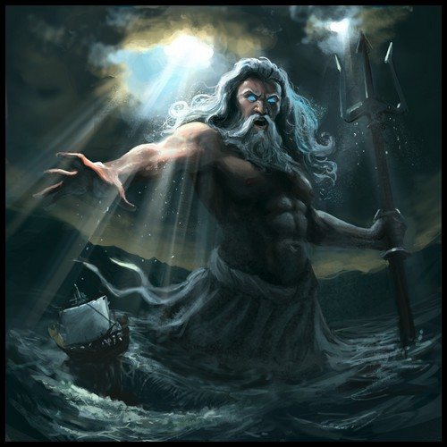 Neptune, Roman God of Water and the Sea