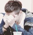 New EXO-M Kris hairstyle