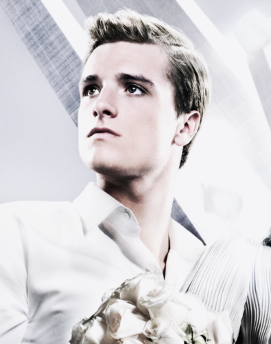 Catching Fire wallpaper titled New Official Catching Fire Poster-Peeta