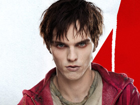 Nicholas hoult as R