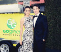 Nina and Ian Elton John Viewing Party - ian-somerhalder-and-nina-dobrev fan art