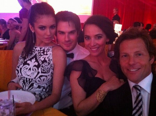 Nina and Ian Elton John Viewing Party