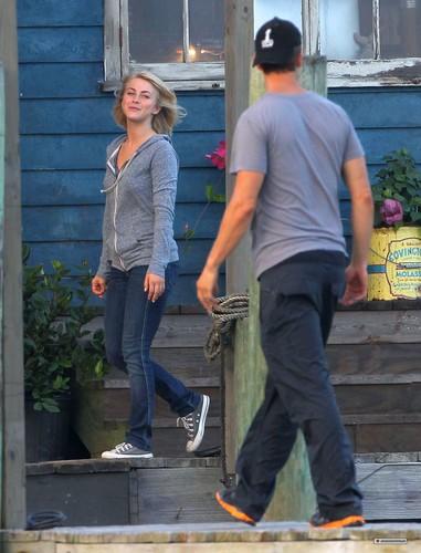 """On set of """"Safe Haven"""" 09/07/2012"""