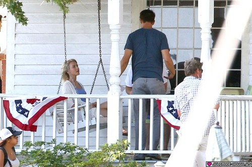 """On set of """"Safe Haven"""" 23/07/2012"""
