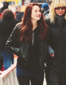 "On the ""The Amazing Spider-Man"" 2 set. - shailene-woodley photo"