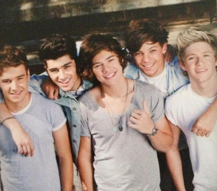 One Direction Tour 2013 Book Pictures