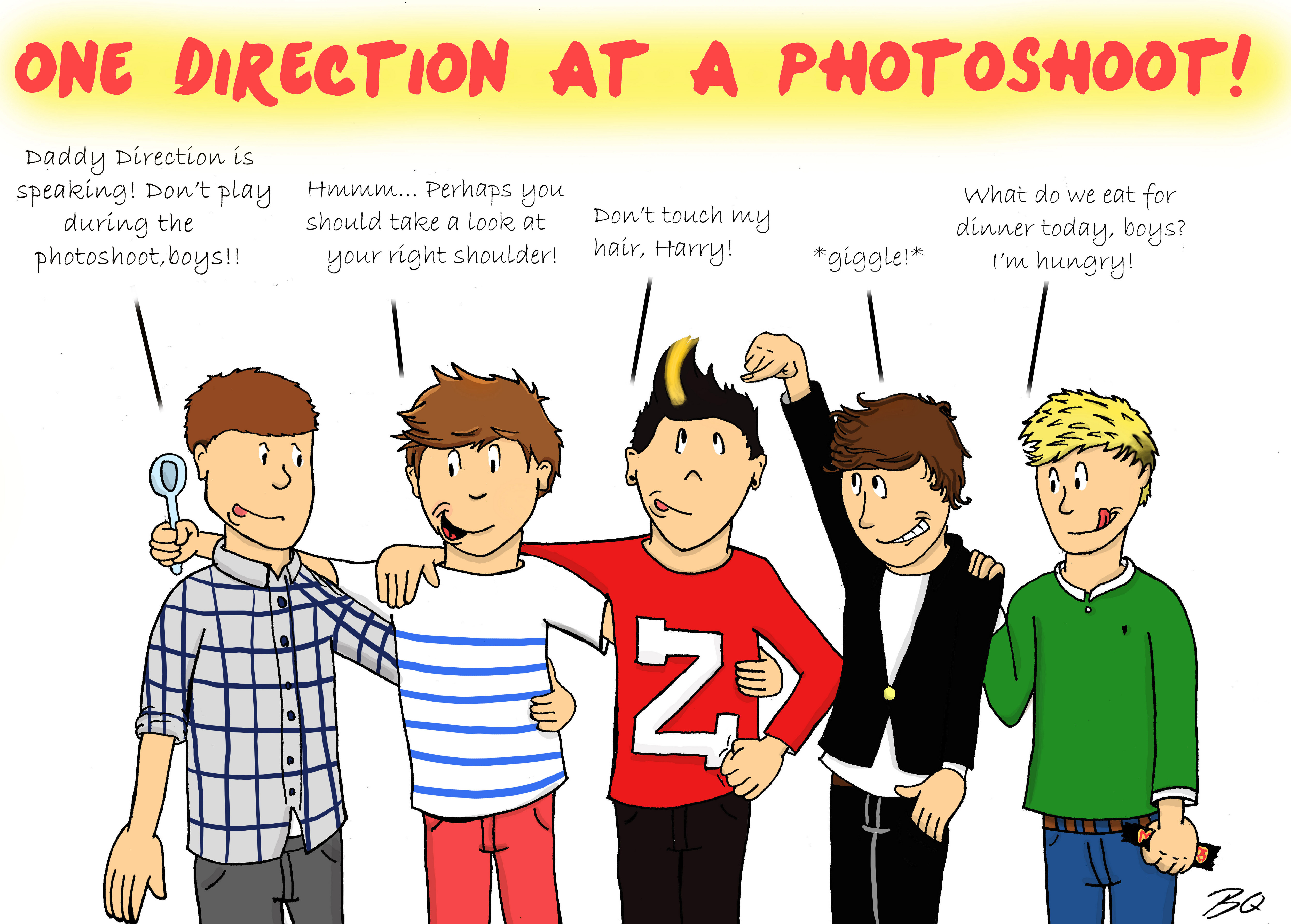 e Direction Collage Drawing Tumblr Pics For e Direction