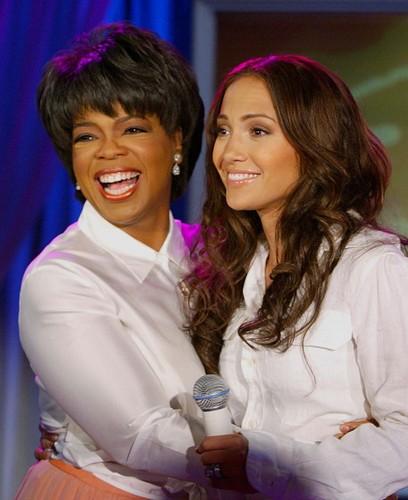 Oprah & Jennifer Lopez 2002