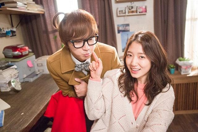 park shin hye and yoon shi relationship