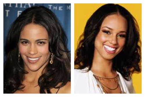 Celebrity Contests wallpaper with a portrait and attractiveness called Paula Patton and Alicia Keys