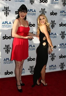 "Pauley Perrette - APLA And The Abbey Host 12th Annual ""The Envelope Please"" Oscar"