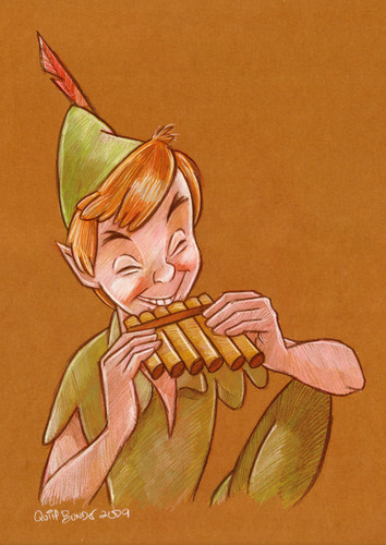 Childhood Animated Movie heroes wallpaper with anime titled Peter Pan