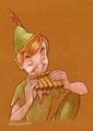 Peter Pan - peter-pan fan art