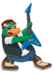Petey K - club-penguin icon