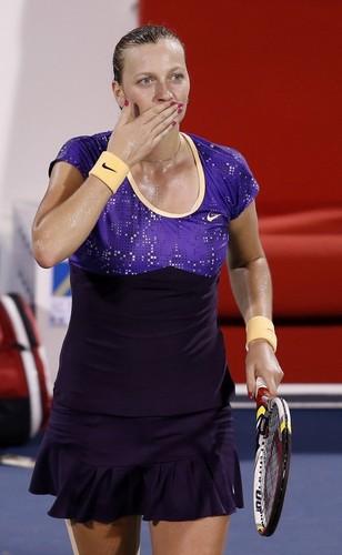 Petra Kvitova Dubai 2013..