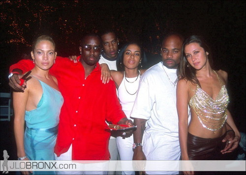 Puff Daddy, Aaliyah, Jay-Z, Jennifer Lopez (2000)