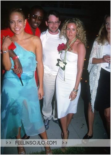 Puff Daddy, Jennifer Lopez, Sarah Jessica Parker 2000