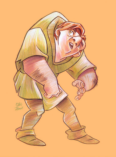 The Hunchback of Notre Dame wallpaper containing anime titled Quasimodo