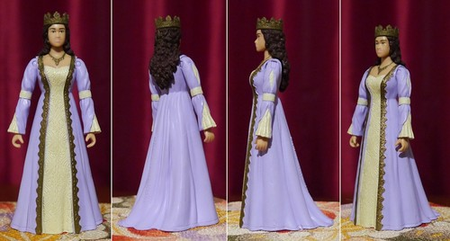 Queen Guinevere Action Figure and the Flying Asshole lol (2)