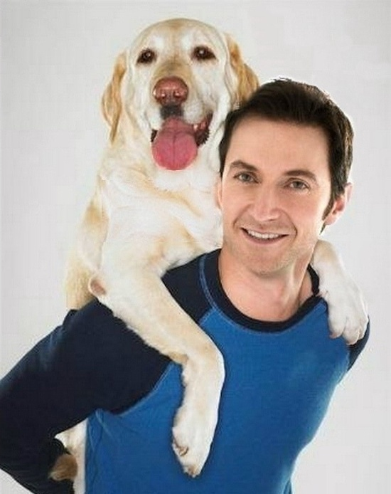 Richard and Dog