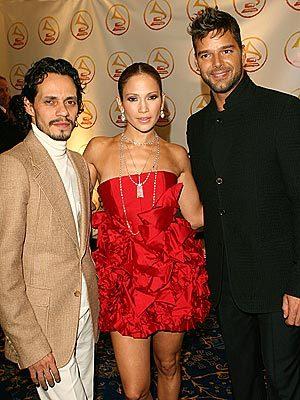 Ricky Martin, Jennifer Lopez, Marc Anthony 2006