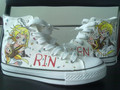 Rin and Len Kagamine custom Converse