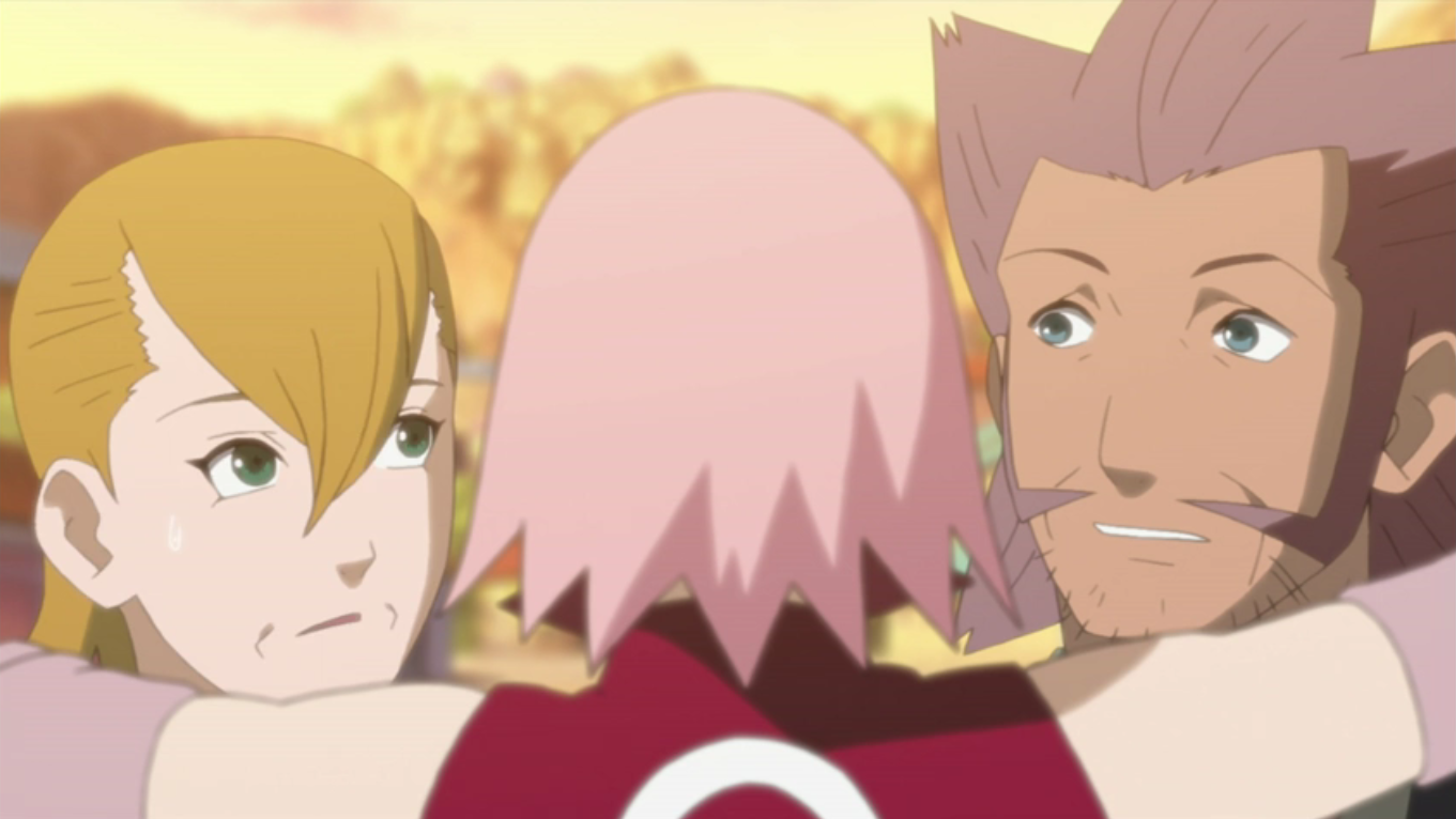 Narusaku Family Images Road To Sakura Road To Ninja Hd Wallpaper