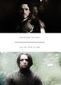 Robb & Arya