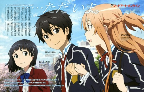 Sword Art Online wallpaper containing anime entitled SAO