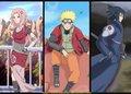 Sakura, Naruto, and Sasuke