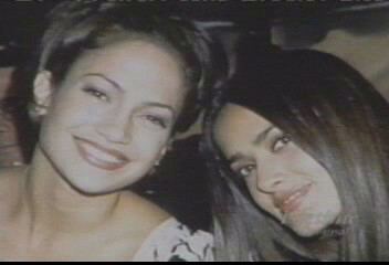 Jennifer Lopez wallpaper with a portrait entitled Salma Hayek & Jennifer Lopez 1997