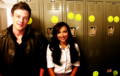 Santana &Finn  - glee photo