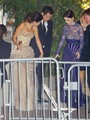 Selena Gomez and Vanessa and Lily collins at the Vanity Fair Oscar Party 2013 (Feb 24 2013) - vanessa-hudgens photo