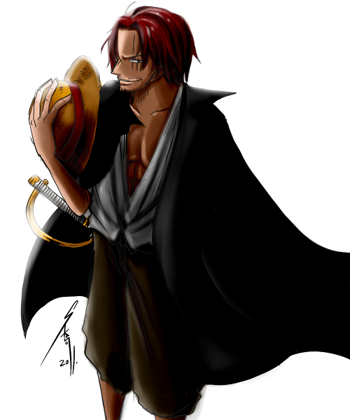 Red Hair Shanks Bilder Shanks Hintergrund And Background Fotos