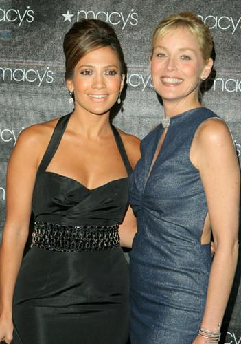 Sharon Stone, Jennifer Lopez 2005