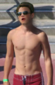Shirtless chris - chris-colfer photo