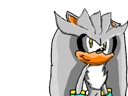 Silver The Hedgehog fan Art