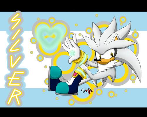 Silver The Hedgehog fondo de pantalla