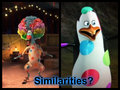 Similarities? - penguins-of-madagascar fan art