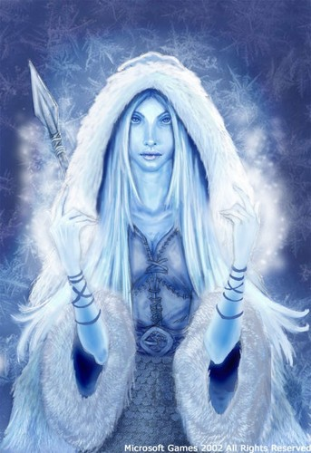 Skadi, Norse Goddess of Winter, Bowhunting, skiën and Mountains