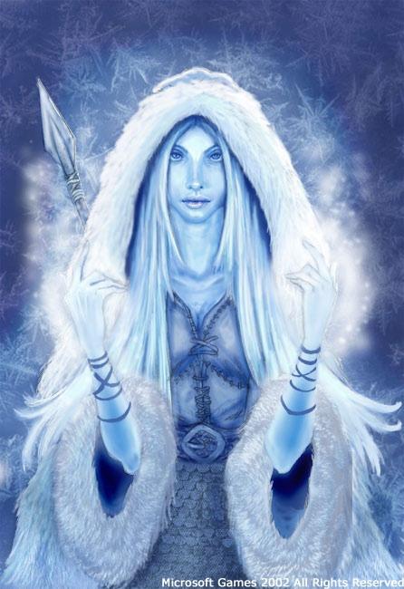 Skadi, Norse Goddess of Winter, Bowhunting, ski and Mountains