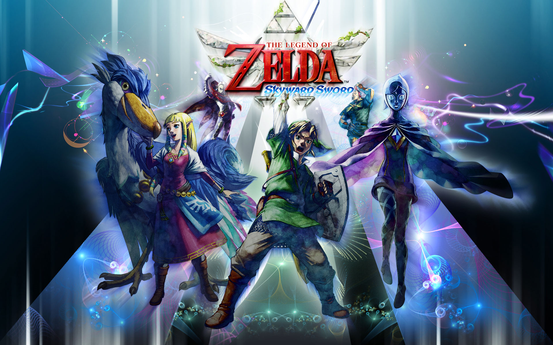 Skyward Sword 壁纸