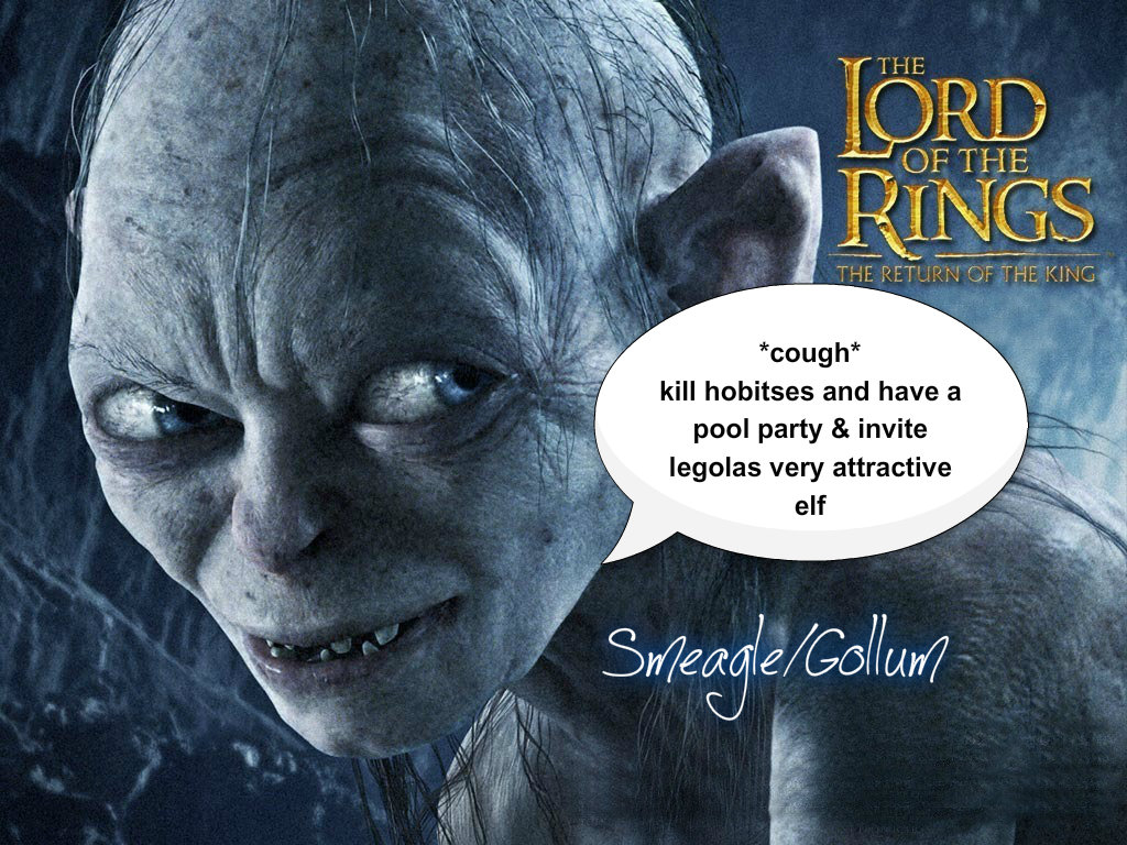 Gollum quotes
