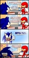 Sonic is told about speed - sonic-the-hedgehog photo