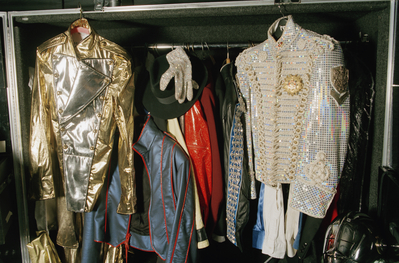 Stage Costumes From The History Tour