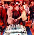 Stanathan&Andrew-100th episode of Castle - nathan-fillion-and-stana-katic photo