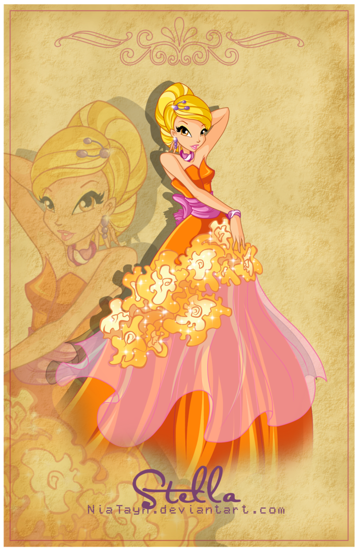 The winx club stella