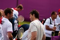 Stepanek and Jagr - tennis photo
