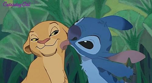 Stitch Loves Me